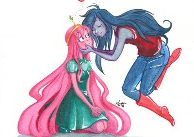 Princesa Jujuba e Marceline